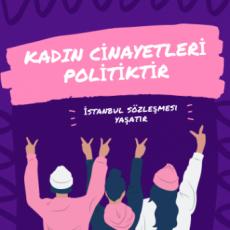 Kadın Cinayetleri Politiktir!